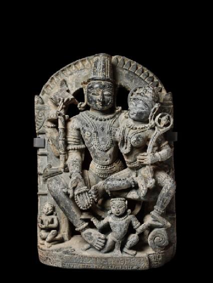 Figure of Vishnu and Lakshmi, or Lakshmi-Narayanafront
