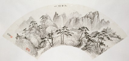 Album of landscape paintings of the Guangdong provinceEA1965.27