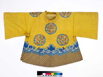Child's coat with dragon roundels and wavesfront