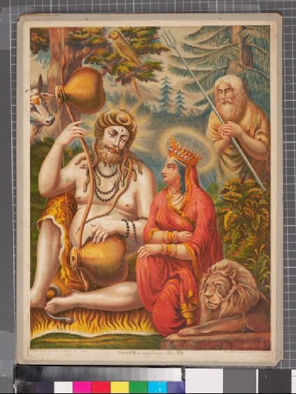 Shiva and Gaurifront