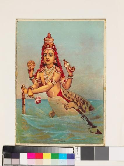 Kaccha, the turtle incarnation of Vishnufront