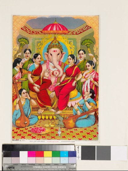 Ganapati, or Ganesha, and the eight nayakasfront