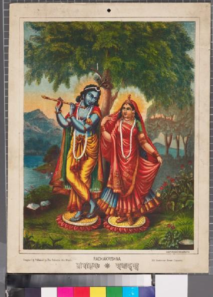 Radha and Krishnafront