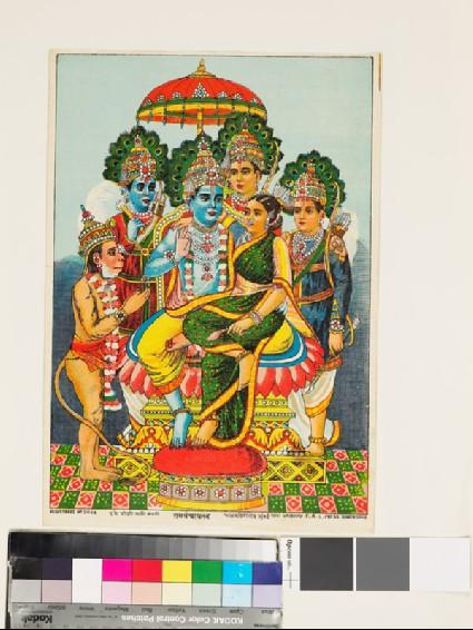 Krishna and Radhafront