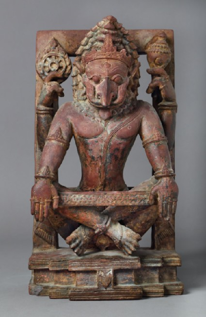 Figure of Narasimha, the man-lion incarnation of Vishnufront