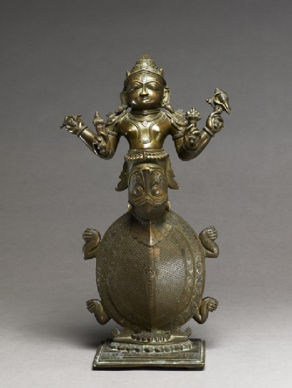 Figure of Kurma, the Tortoise incarnation of Vishnufront