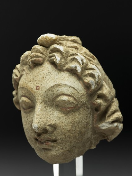 Head of a worshipperside