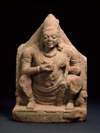 Figure of Surya, the Sun godfront