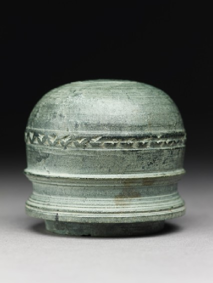 Dome of a reliquary in the form of a stupaside