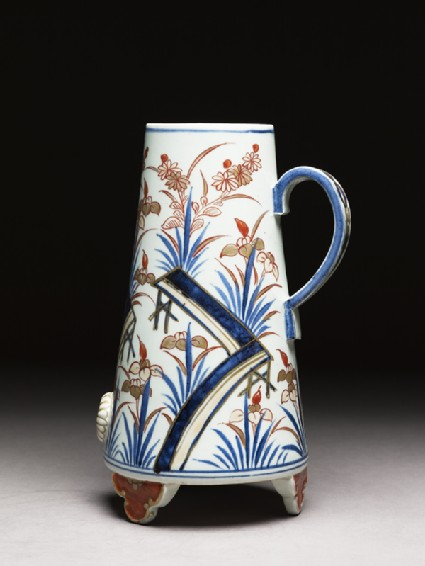 Coffee pot with an episode from the Tales of Iseside