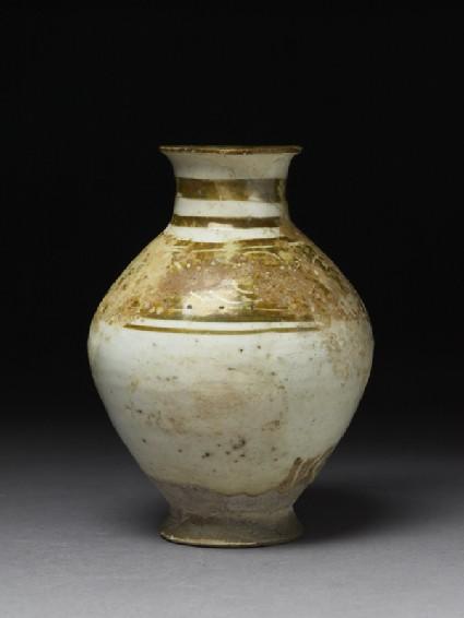 Jar with incised lustre bandside