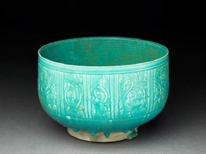 Bowl with pseudo-inscriptionoblique