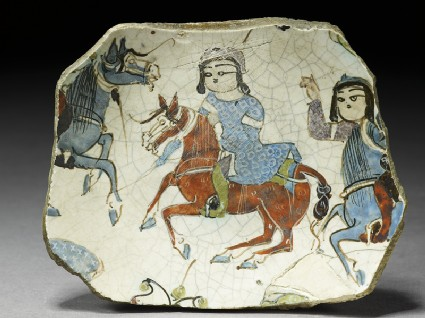 Fragment of a bowl with riderstop