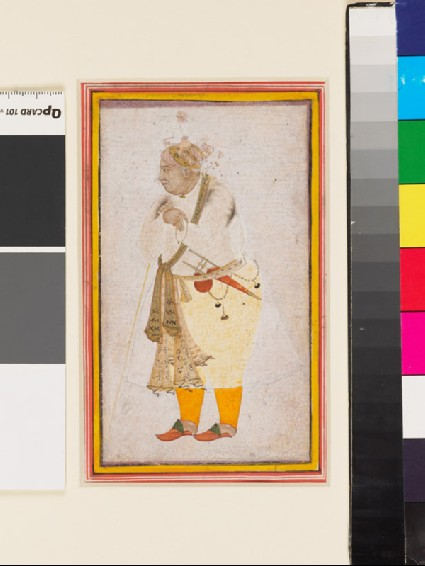 Portrait of a man, possibly Raja Man Singhfront