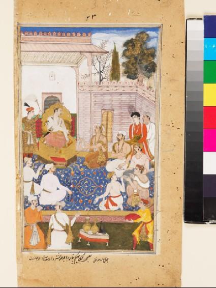 Bhishma advises Yudhishthira on the nature of the four varnas, or castesfront