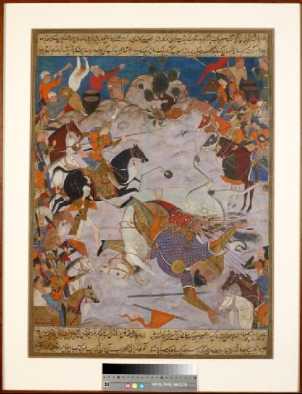 Amir Hamza defeats 'Umar-i Ma'di Karabfront
