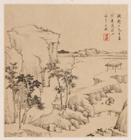 River landscapefront