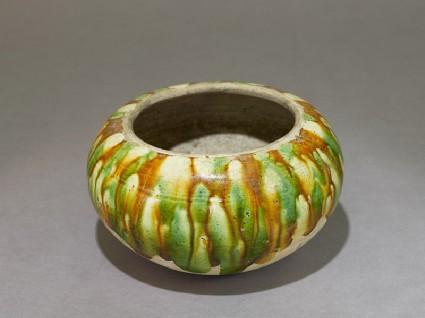 Bowl with three-colour glazeoblique