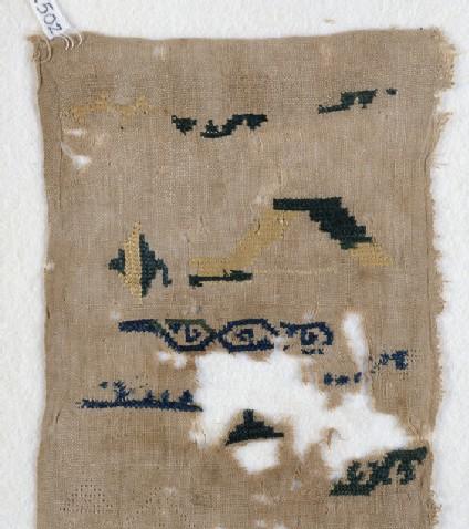 Sampler fragment with scrollsfront