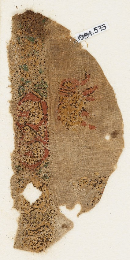 Textile fragment with elephantfront