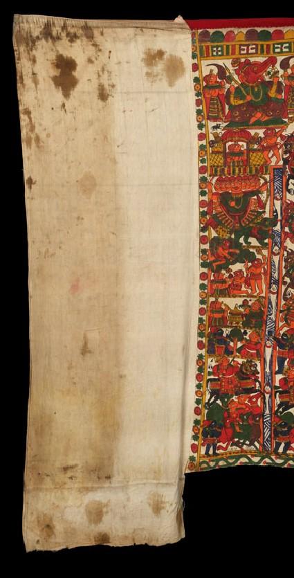 Pabuji's par, or narrative paintingfront