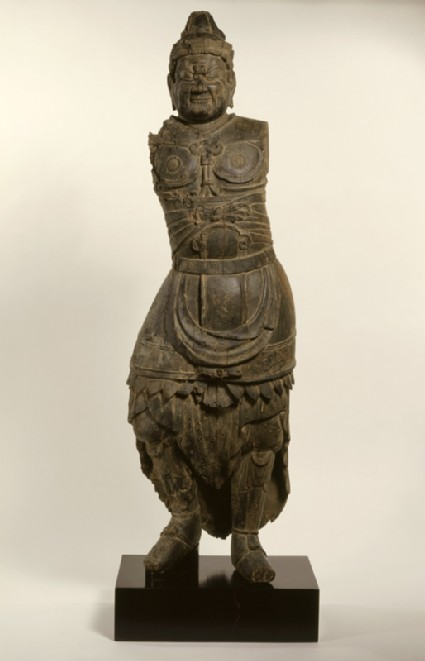 Figure of a Shi-Tennō, a Guardian King of the Four Cornersfront