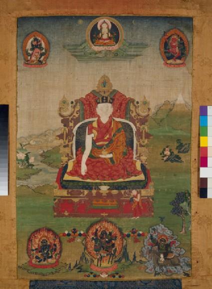 The 13th Karmapa Lamafront