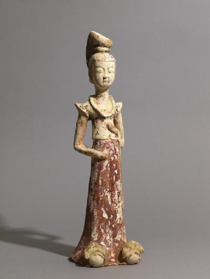 Standing figure of a ladyoblique