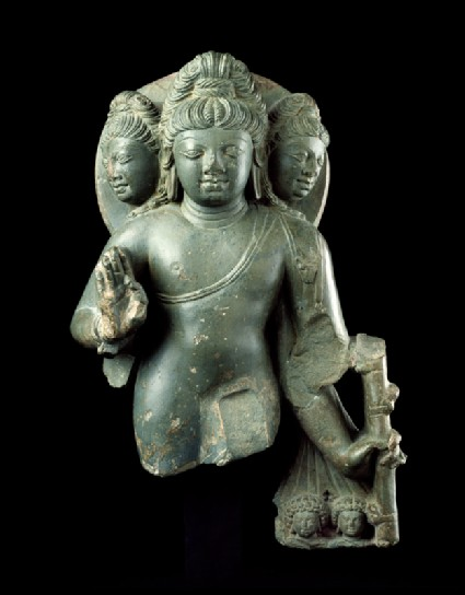 Figure of Brahma, god of creationfront