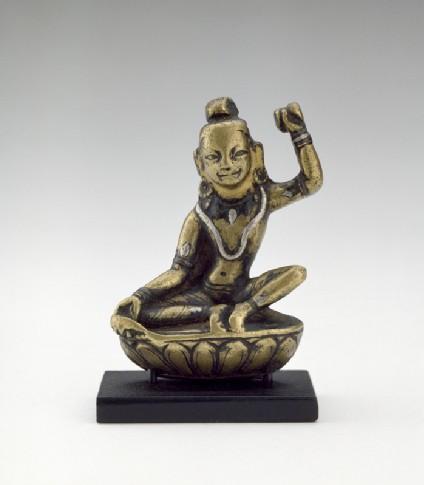 Figure of Mahasiddha Tilopafront