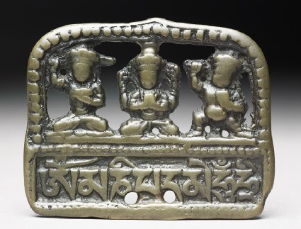 Mantra talismanic plaque, or tokchafront