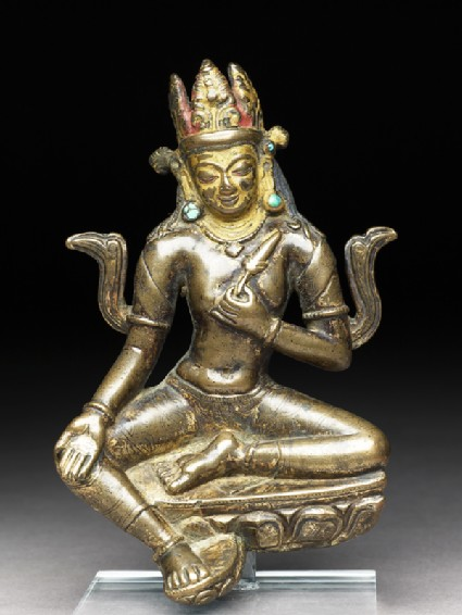 Seated figure of Manjushrifront