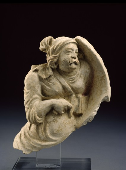Fragmentary figure of a warriorside