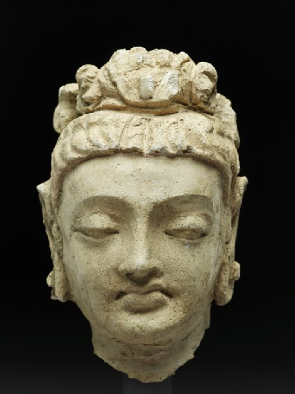 Head of a bodhisattvafront
