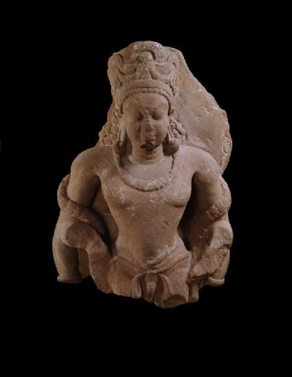 Fragmentary standing figure of Vishnufront