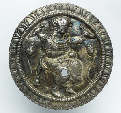 Roundel with the goddess Haritifront