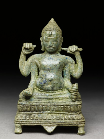 Figure of four-armed Shivafront