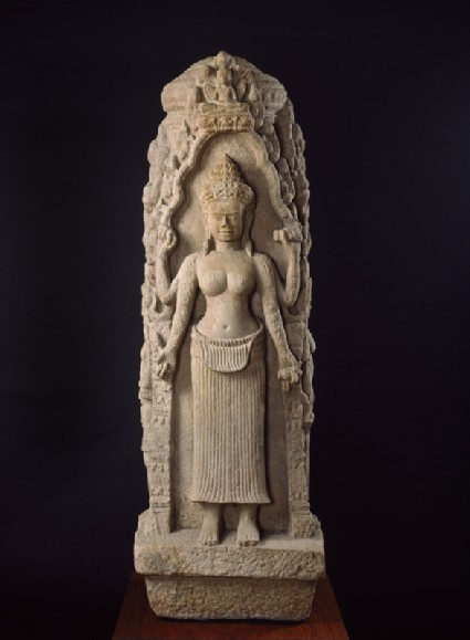 Buddhist chaityaside