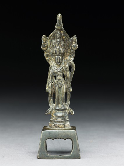 Standing figure of the bodhisattva Guanyinfront
