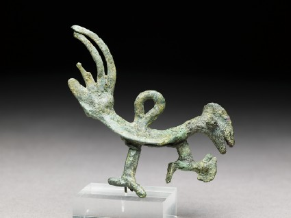 Amulet in the form of a birdside