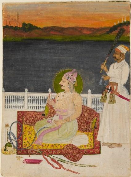 Maharaja Sirdar Singh of Kishangarhfront