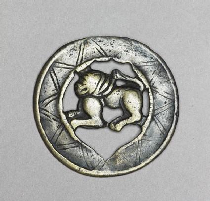 Lion talismanic plaque, or tokchafront