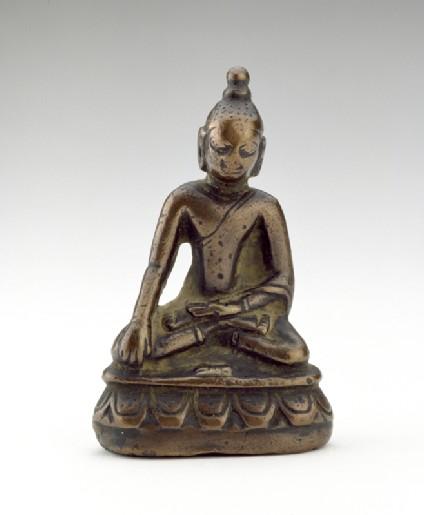 Figure of the Akshobhya Buddhafront