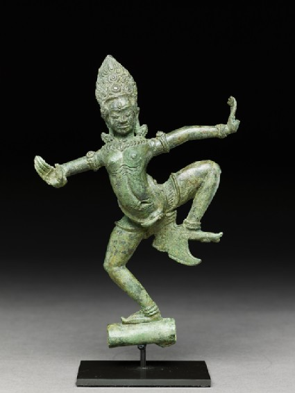 Dancing apsara, or celestial beautyfront