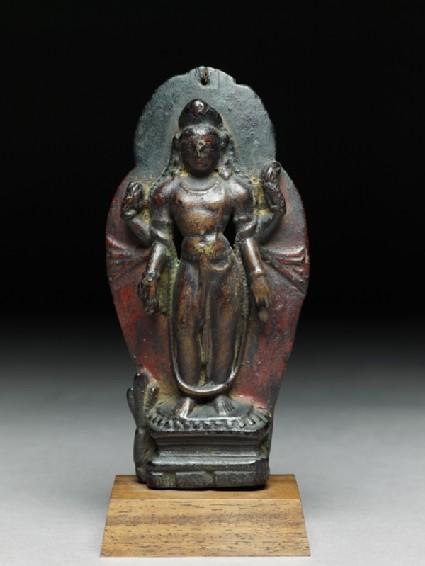 Figure of Maitreya, the future Buddhafront