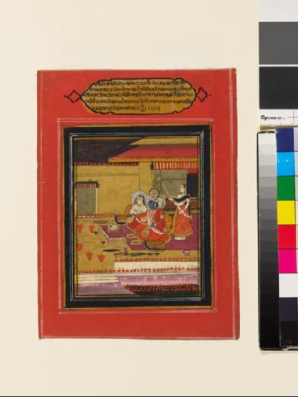 Krishna and Radha at Diwalifront