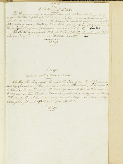 Description of A Porter with Billets and A Man with a Raree-Showfront
