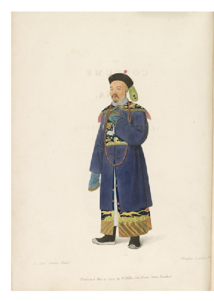 The Costume of China: Illustrated by Sixty Engravings in English and Frenchfront