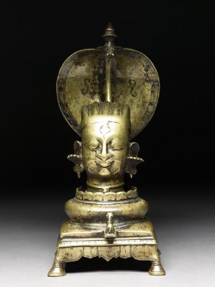 Shivalinga shrinefront