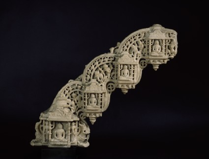 Section of a torana arch from a Jain templefront